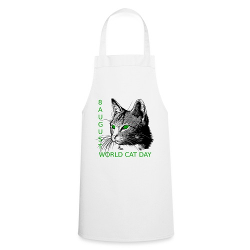 Gatto, 8 agosto la sua giornata mondiale - Grembiule da cucina