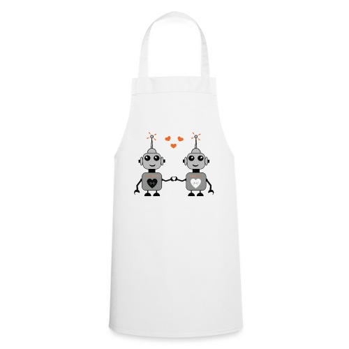 Robot Couple - Cooking Apron
