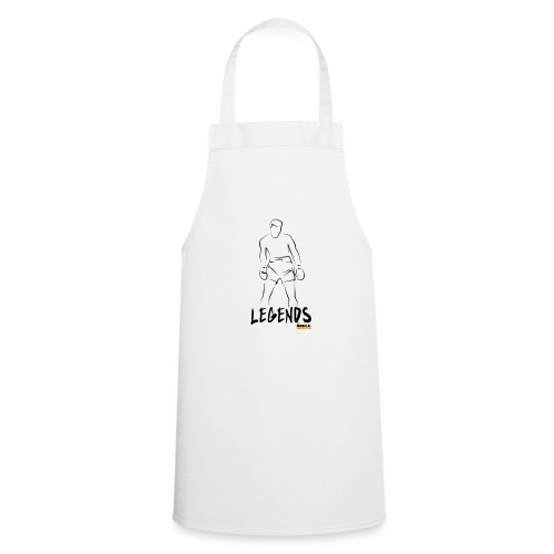 Muscle Growth Expert (LEGENDS) - Water Bottle (wt) - Cooking Apron