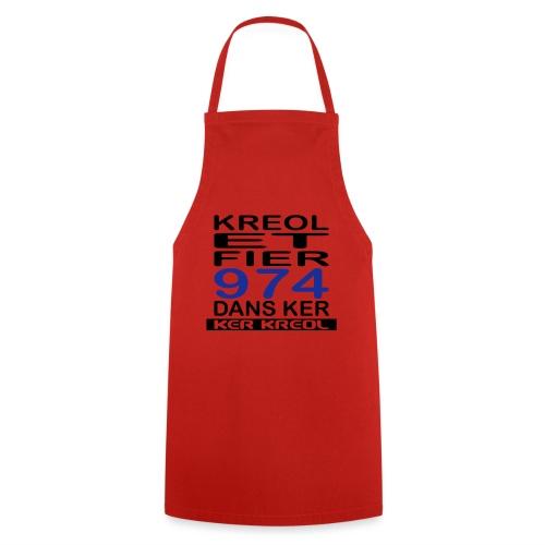 Kreol et Fier - 974 ker kreol - Tablier de cuisine