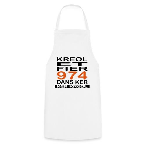 974 ker kreol - Kreole et Fier - Tablier de cuisine