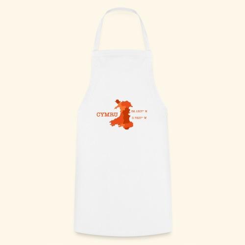 Cymru - Latitude / Longitude - Cooking Apron