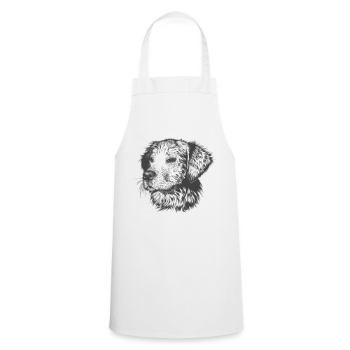 Perro dibujo - Delantal de cocina