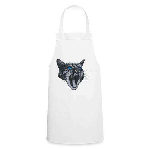 Really angry kitty cat - Cooking Apron