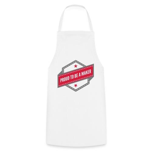 logo Vintage Proud to be a Maker - Tablier de cuisine