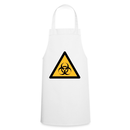 Hazard Symbol - Biohazard (2-color) - Cooking Apron