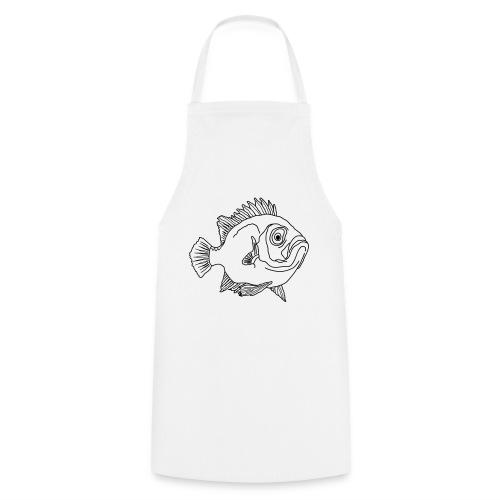 Fisch Barsch Ozean Meer Wasser Aquarium Angeln - Kochschürze
