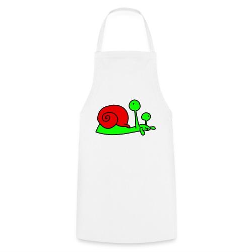 Schnecke Nr 207 von dodocomics - Kochschürze