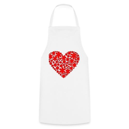 serce - Fartuch kuchenny