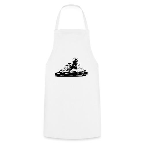 Kart Silhouette T-Shirt - Cooking Apron