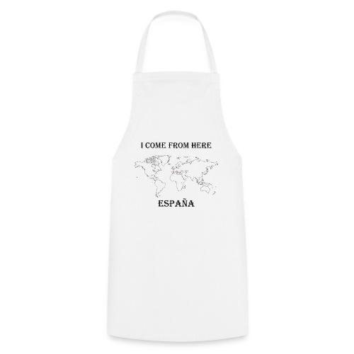España-blanc - Tablier de cuisine