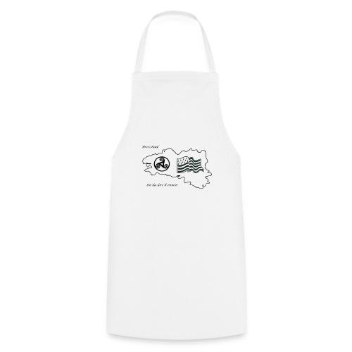 t-shirt Fier d'etre breton - Tablier de cuisine