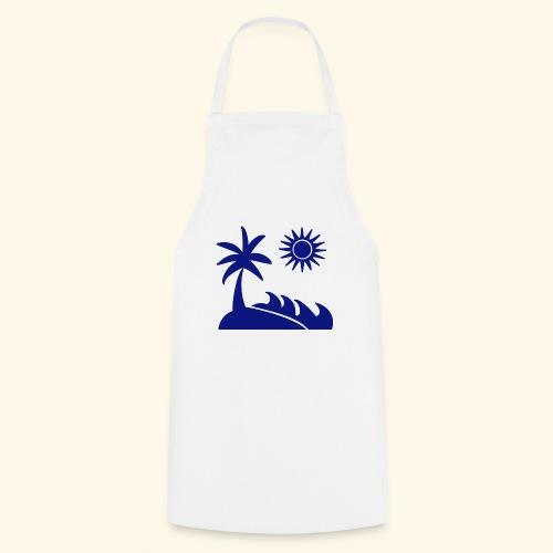 Palme, Meer, Sonne, Strand - Kochschürze