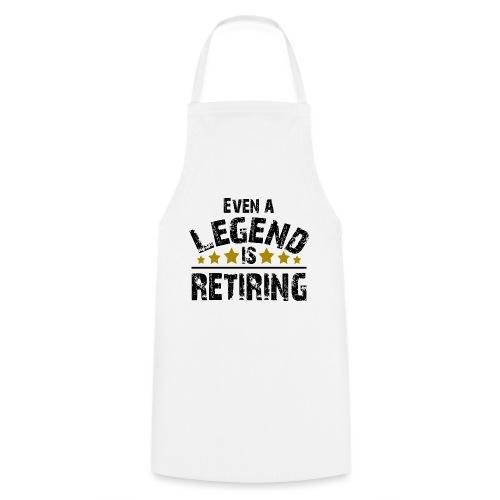 Legend Rente Pension Ruhestand Pensionist Geschenk - Kochschürze
