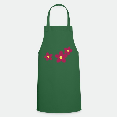 Three Flowers - Cooking Apron