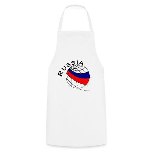 Russland Fußballmotiv - Delantal de cocina