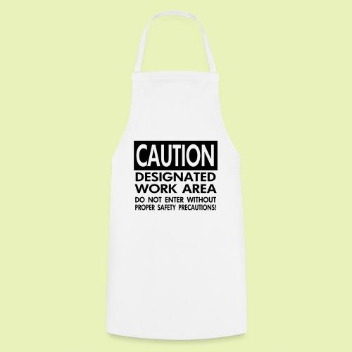 Caution work area - Keukenschort