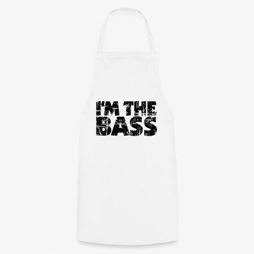 I'm the Bass Vintage Black - Kochschürze