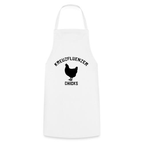 Kreuzfluenzer Chicks BLACK - Kochschürze