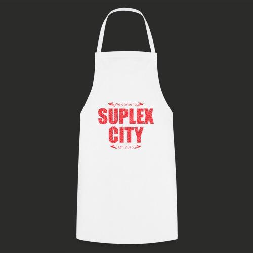 Suplex City Mens T-Shirt - Cooking Apron