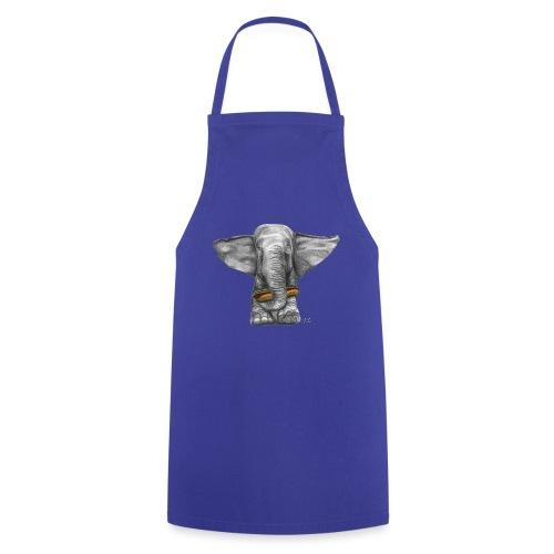 Elephant Eating Hotdog - Cooking Apron