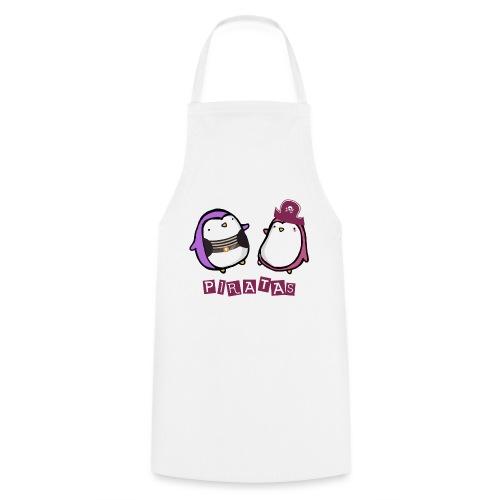 PINGUINOSPIRATAS - Delantal de cocina