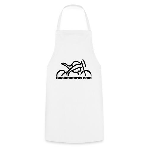 logo buellmotards black - Delantal de cocina