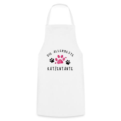 Die allerbeste Katzentante - Kochschürze