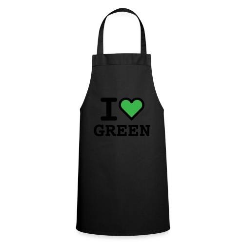 i-love-green-2.png - Grembiule da cucina