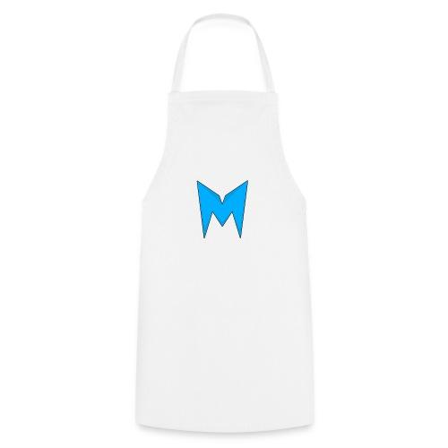 Tee-shirt Madcrow Noir & Logo Bleu - Tablier de cuisine