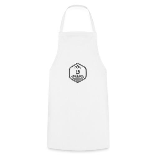 Wanderweg E5 Logo - Kochschürze