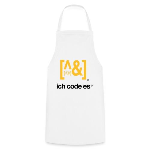 ich code es - Thermobecher - Kochschürze