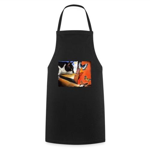 Il gatto di Dalí - Grembiule da cucina