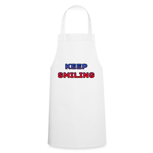 NEW keep smiling Mrspidey - Cooking Apron