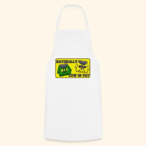 drapeau naturallylowinfat - Tablier de cuisine