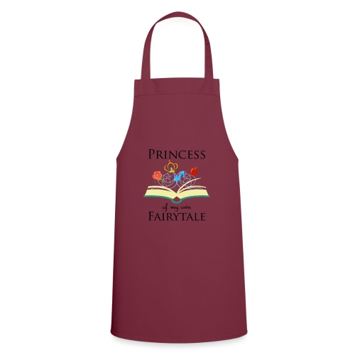 Princess of my own fairytale - Black - Cooking Apron