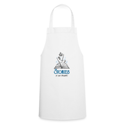 Stories In Our Thoughts - Black - Cooking Apron