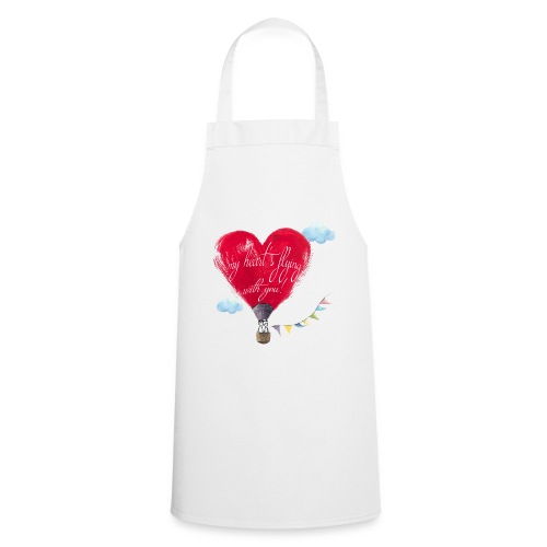 my heart is flying with you! - Grembiule da cucina