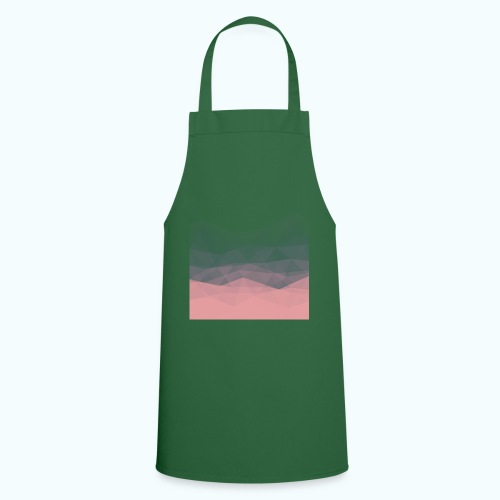 Modern Abstract Triangles Minimal - Cooking Apron