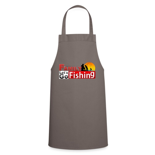 FAMILY LET´S GO FISHING FONDO - Delantal de cocina