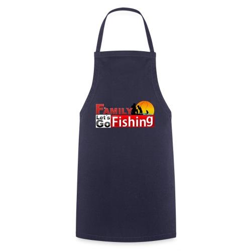 FAMILY LET´S GO FISHING FONDO - Delantal de cocina