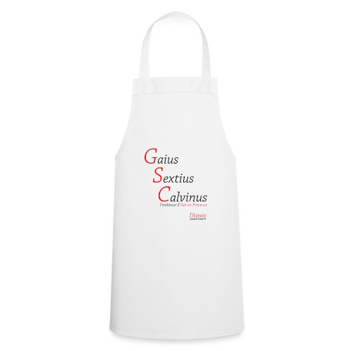 Gaius Sextius Calvinus - Tablier de cuisine