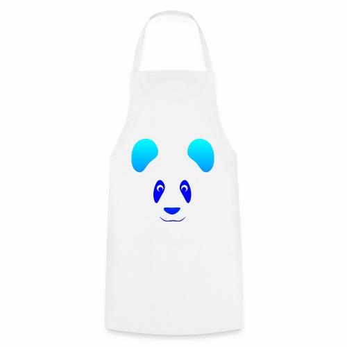Happy Panda - Blue - Cooking Apron