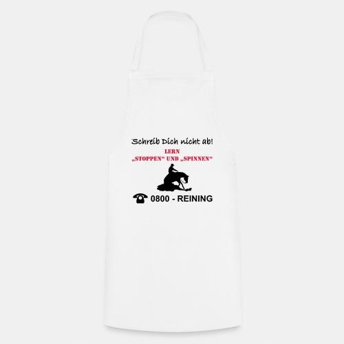 Schreib Dich nicht ab Reining - Kochschürze