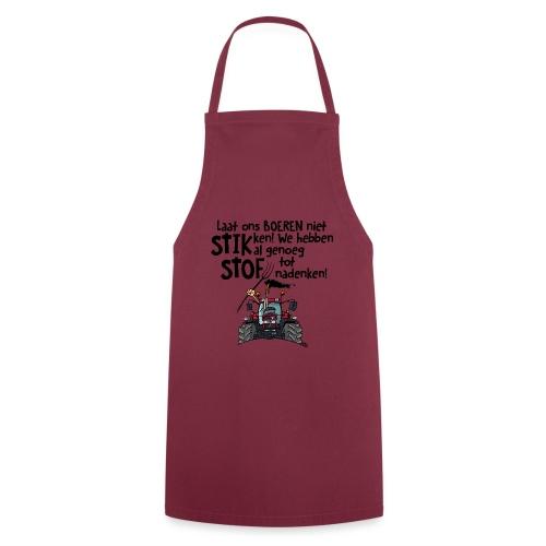0505 stikstof - Keukenschort