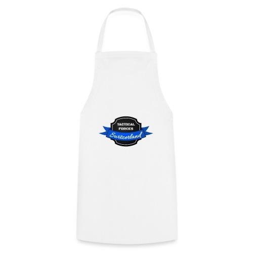 TFS Ruban noir et bleu - Tablier de cuisine