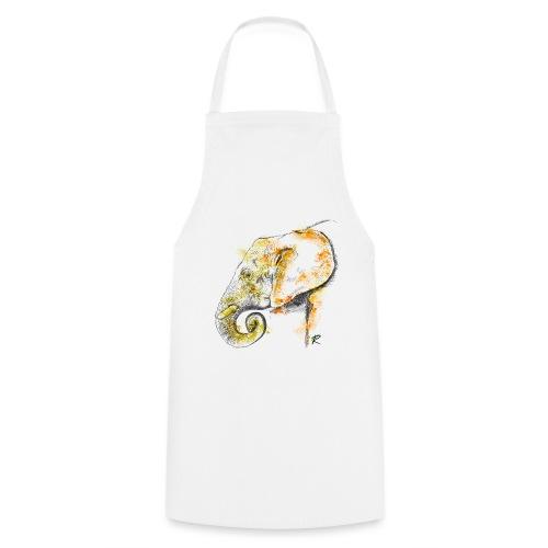 Elephant 2 color - Grembiule da cucina