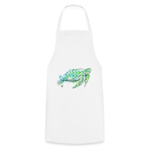 Sea turtle color - Grembiule da cucina