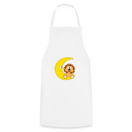 Lustiger Igel - Mond - Kinder - Baby - Fun - Kochschürze