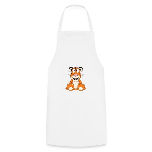Lustiger Tiger - Kinder - Baby - Tier - Fun - Kochschürze